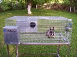 Цялостно автоматизирано оборудване за отглеждане на зайци 5